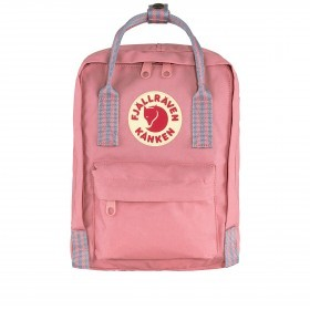 Fjällräven Kånken Mini Rucksack Pink Long Stripes