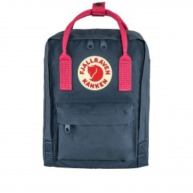 Fjällräven Kånken Mini Rucksack Royal Blue Flamingo Pink