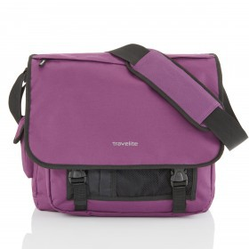 Travelite Basics Messenger Purpur