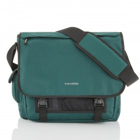 Travelite Basics Messenger Grün