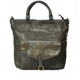 Desiderius Mons Adriana Shopper Leder Dark Olive