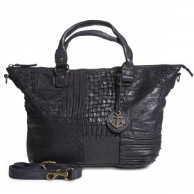 HARBOUR2nd Shopper M Poppy B3.5872 Dark Ash