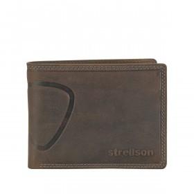 Strellson Baker Street Billfold H7 Scheintasche Leder Dark Brown
