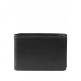 BREE Pocket 102 Mini-Geldbörse Leder Schwarz