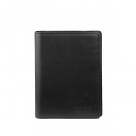 BREE Pocket 108 Faltbrieftasche Leder Schwarz