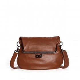Sticks and Stones Cannes Bag - Buff Washed Leder Cognac