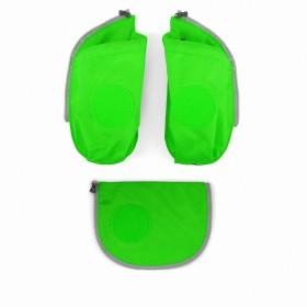 Ergobag Cubo Seitentaschen Zip-Set Grün