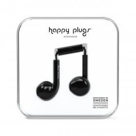 Happy Plugs Kopfhörer Earbud Plus Black