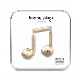 Happy Plugs Kopfhörer Earbud Plus Deluxe Edition Champagne
