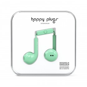 Happy Plugs Kopfhörer Earbud Plus Mint