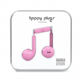 Happy Plugs Kopfhörer Earbud Plus Pink