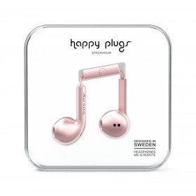 Happy Plugs Kopfhörer Earbud Plus Deluxe Edition Pink Gold