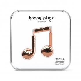 Happy Plugs Kopfhörer Earbud Plus Deluxe Edition Rosegold