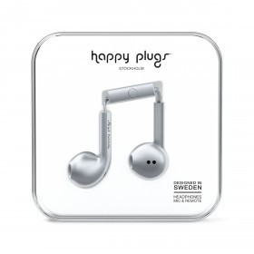 Happy Plugs Kopfhörer Earbud Plus Deluxe Edition Space Grey