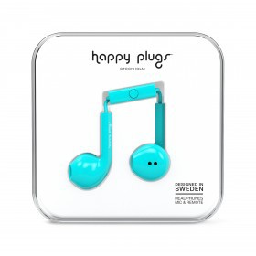 Happy Plugs Kopfhörer Earbud Plus Turquoise
