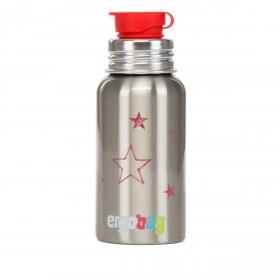 Ergobag Pura Edelstahl-Trinkflasche Sterne