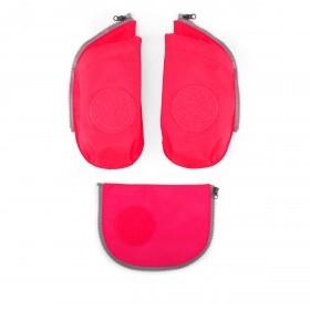 Ergobag Cubo Seitentaschen Zip-Set Pink