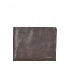 Strellson Jefferson BillFold H8 Geldbörse Leder Dark-Brown