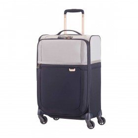 Samsonite Koffer/Trolley Uplite 74759 Spinner 67 Exp. Pearl / Blue