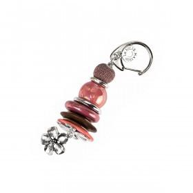 La Jolie Maison Schlüsselanhänger Pink Rot