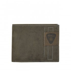 Strellson Richmond Billfold H6 Geldbörse Leder Dark Brown