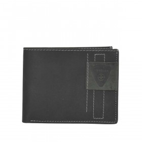 Strellson Richmond Billfold H6 Geldbörse Leder Black