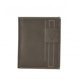 Strellson Richmond Billfold V12 Geldbörse Leder Dark Brown