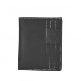Strellson Richmond Billfold V12 Geldbörse Leder Black
