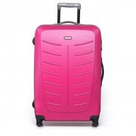 Travelite Robusto 4-Rad Trolley 77cm  Pink