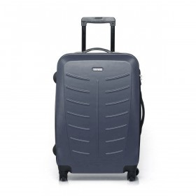 Travelite Robusto 4-Rad Trolley 66cm Anthrazit