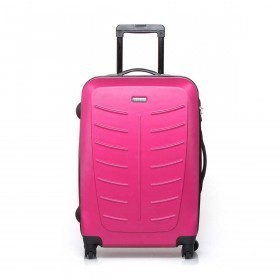 Travelite Robusto 4-Rad Trolley 66cm Pink
