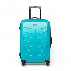 Travelite Robusto 4-Rad Trolley 66cm Türkis