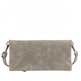 Fritzi aus Preußen Vintage Ronja Clutch Synthetik Darkgrey Pebble
