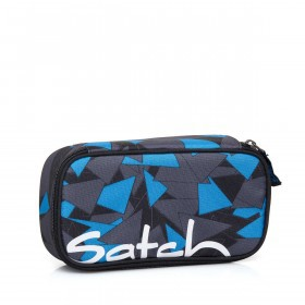 Satch Schlamperbox Triangle Blue
