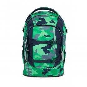 Satch Pack Rucksack Camouflage Grün