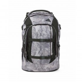 Satch Pack Rucksack Rock Block Concrete Wall