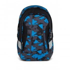 Satch Sleek Rucksack Blue Triangle