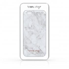 Happy Plugs Deluxe Slim Case Iphone 6/6s Unik Edition White Carrara Marble