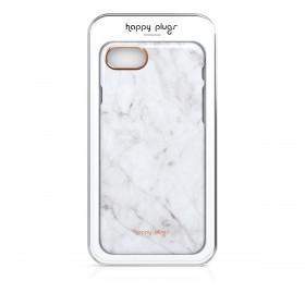 Happy Plugs Deluxe Slim Case Iphone 7 Unik Edition White Carrara Marble