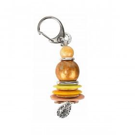 La Jolie Maison Schlüsselanhänger Gelb Orange