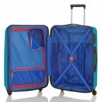 Travelite Uptown 4-Rad Trolley 75cm Petrol, Farbe: blau/petrol, Marke: Travelite, Abmessungen in cm: 52.0x75.0x31.0, Bild 2 von 3