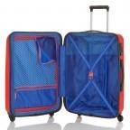 Travelite Uptown 4-Rad Bordtrolley 55cm Rot, Farbe: rot/weinrot, Marke: Travelite, Abmessungen in cm: 38.0x55.0x20.0, Bild 3 von 4