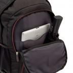 Travelite Filou 2-Rad Rucksack-Trolley 56cm Schwarz, Farbe: schwarz, Marke: Travelite, Abmessungen in cm: 35.0x56.0x16.0, Bild 4 von 11