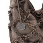 SURI FREY Molly Beutel Reißverschluss Synthetik Brown, Farbe: braun, Marke: Suri Frey, Abmessungen in cm: 37.0x33.0x17.0, Bild 5 von 6