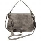 SURI FREY Romy 10203 Satteltasche M Synthetik Dark Grey, Farbe: grau, Marke: Suri Frey, Abmessungen in cm: 31.0x25.0x7.0, Bild 2 von 5