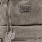 SURI FREY Romy Rucksack Reißverschluss Synthetik Dark Grey, Farbe: grau, Marke: Suri Frey, Abmessungen in cm: 26.0x36.0x10.0, Bild 5 von 7