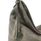 SURI FREY Romy Beutel M Reißverschluss Synthetik II Dark Grey, Farbe: grau, Marke: Suri Frey, Abmessungen in cm: 42.0x33.0x10.0, Bild 4 von 5