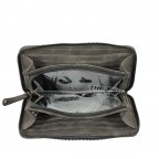 SURI FREY Romy 10224 Flachbörse Reißverschluss Dark Grey, Farbe: grau, Marke: Suri Frey, Abmessungen in cm: 20.0x10.0x2.0, Bild 4 von 4