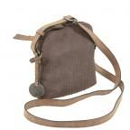 SURI FREY Ruby Crossbag S Reißverschluss Synthetik Brown, Farbe: braun, Marke: Suri Frey, Abmessungen in cm: 18.0x17.0x5.0, Bild 2 von 5