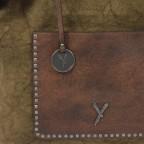 SURI FREY Lilly Shopper M Synthetik Khaki, Farbe: taupe/khaki, Marke: Suri Frey, Abmessungen in cm: 40.0x31.0x13.0, Bild 5 von 6